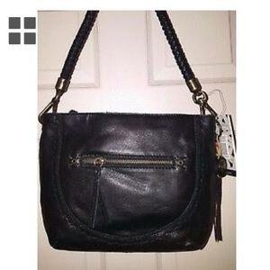 SAK Indio Leather Style 105785 small black purse
